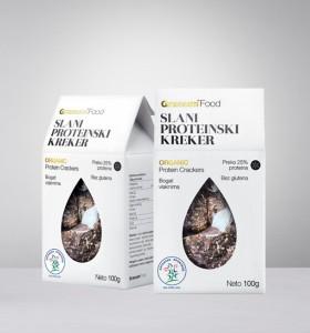 Slani proteinski kreker